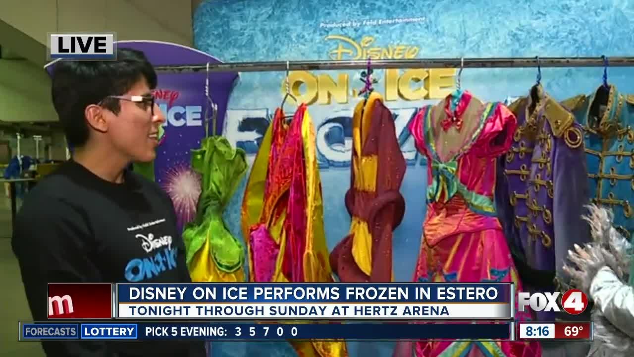 Disney on Ice is back in Southwest Florida presenting Frozen