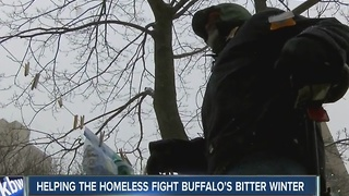 Helping the homeless fight Buffalo's bitter winter - Video