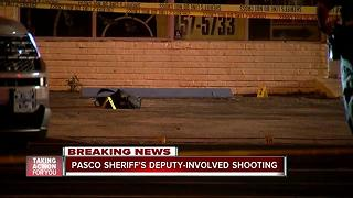 Man shot multiple times after firing a pellet gun at deputies - Video