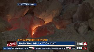 Spending National Relaxation Day at Salt Cave - Video