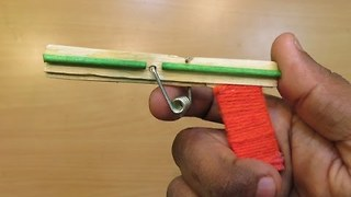How to Make a Nano Powerfull Gun That Shoots - how made toy for kids - kid toys  - Video