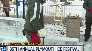 35th Annual Plymouth Ice Festival 8am - Video
