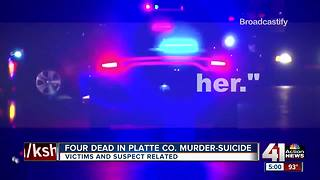 Police identify victims found dead in Platte County home - Video