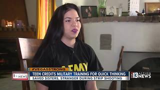 Teen Army Private saves sisters, concert goer amid chaos - Video
