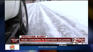 Road concerns in Northern Oklahoma - Video