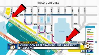 SAN DIEGO COMIC-CON TRAFFIC AND ROAD CLOSURE INFORMATION