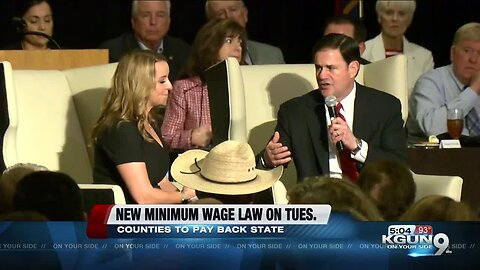 Arizona law means local minimum wage hikes may bear a cost