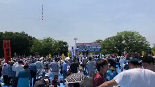 Protesters Join May Day Rally in Tokyo Amid Row Over Constitution Proposals - Video