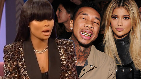 Blac Chyna REVEALS How She Found Out About Kylie Jenner & Tyga Hooking Up!