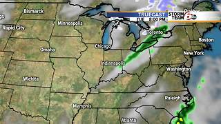 Colder, quieter and drier for Sunday - Video