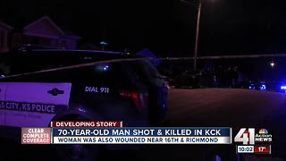 Elderly man killed in Christmas shooting in KCK - Video
