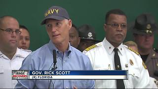 Governor Scott thanks first responders - Video