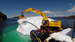 Iceberg Harvesting - Video - Video