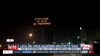 Local Red Cross volunteers deployed to Texas - Video