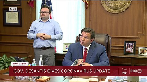 DeSantis signing order to 'limit movements' to essential activities