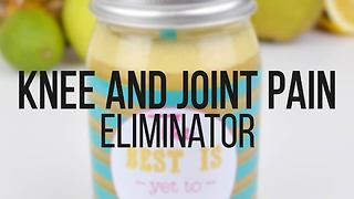 Knee and joint pain eliminator smoothie - Video