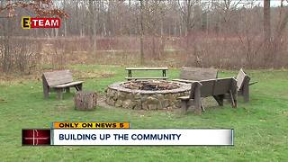 Cleveland family converts three green spaces into parks - Video