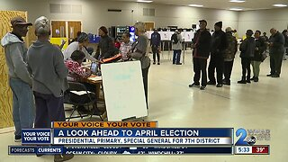 Looking ahead to primary, special general elections in April