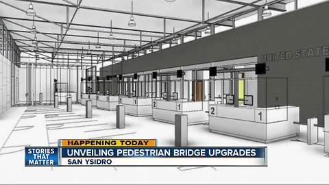 New pedestrian crossing opens at San Ysidro Port of Entry
