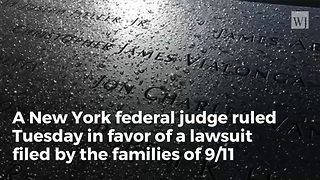 US Judge: Iran Ordered To Pay Billions In 9/11 Payments - Video