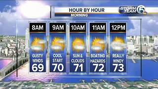South Florida Friday morning forecast (1/26/18) - Video