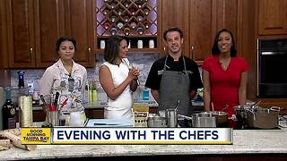 Birchwood chef offers preview of Evening with the Chefs benefit - Video