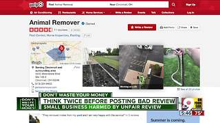 Think twice before posting bad reviews - Video