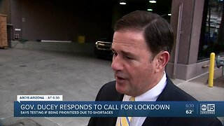 Governor Ducey speaks on the latest state efforts to combat the coronavirus