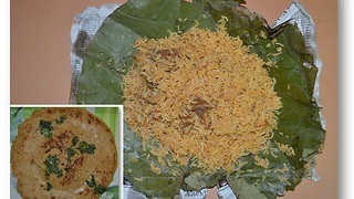 INDIAN FOOD - BIRYANI DOSA indian style - Video