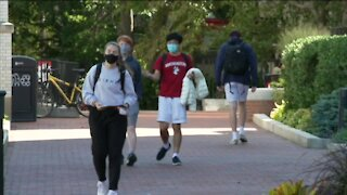 Health officials stress caution among college students returning home for Thanksgiving