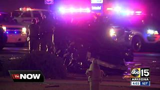 Scottsdale officer-involved shooting leads to pursuit, crash in Phoenix - Video