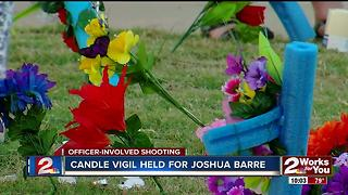 Candle vigil held for Joshua Barre - Video