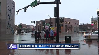 'Reject the Cover Up' rally held in Boise
