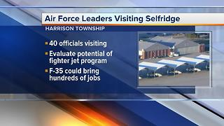 Air Force leaders visiting Selfridge - Video