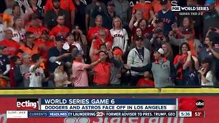 Astros are one victory away from the franchise's first ever World Series Championship - Video