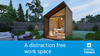 The Zen Work Pod is the perfect work-from-home upgrade