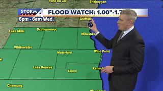 Flood Watch issued for parts of SE Wis. - Video