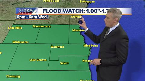 Flood Watch issued for parts of SE Wis.
