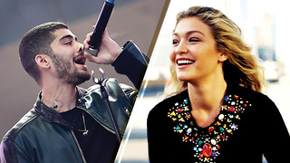 Awww! Zayn Malik Sings a Love Song for Gigi Hadid - Video