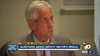 Controversy over Oceanside politician's emails - Video