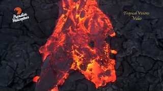 Kilauea Volcano Adds More Land to Hawaii - Video