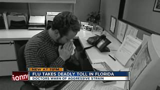 Doctor: moderate cold, flu symptoms could lead to serious complications - Video