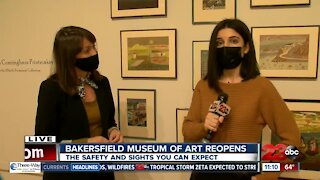 A Live Tour of the Reopening of the Bakersfield Museum of Art
