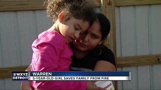 Fire cost Warren family their home, but 5-year-old saved their lives - Video