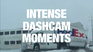 Jaw-Dropping Dashcam Captures - Video