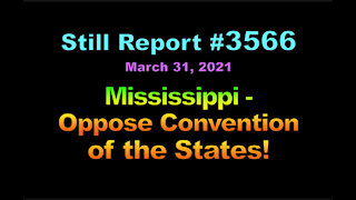 Mississippi - Oppose Article 5 States, 3566