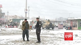 Security Forces Cordon Off Kabul Military Academy Following Attack - Video