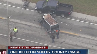 One killed in multi-vehicle Shelby County crash - Video