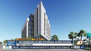 New affordable housing building going up in East Village