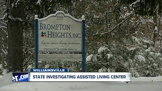 State investigating Williamsville assisted living facility - Video